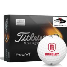 Titleist 2021 Pro V1 AIM Bradley Braves Golf Balls
