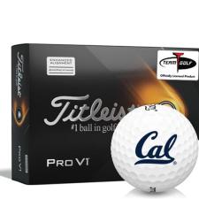 Titleist 2021 Pro V1 AIM California Golden Bears Golf Balls