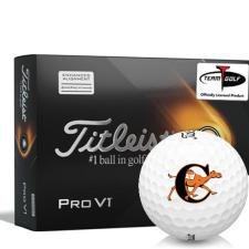 Titleist 2021 Pro V1 AIM Campbell Fighting Camels Golf Balls