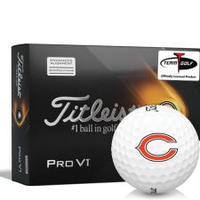 Titleist 2021 Pro V1 AIM Chicago Bears Golf Balls