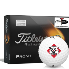 Titleist 2021 Pro V1 AIM Davidson Wildcats Golf Balls