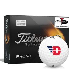 Titleist 2021 Pro V1 AIM Dayton Flyers Golf Balls