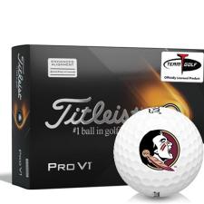 Titleist 2021 Pro V1 AIM Florida State Seminoles Golf Balls