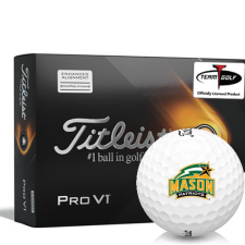 Titleist 2021 Pro V1 AIM George Mason Patriots Golf Balls