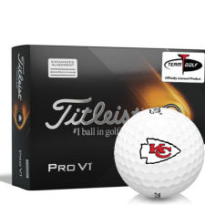 Titleist 2021 Pro V1 AIM Kansas City Chiefs Golf Balls