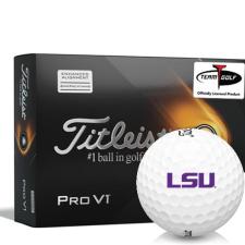 Titleist 2021 Pro V1 AIM LSU Tigers Golf Balls