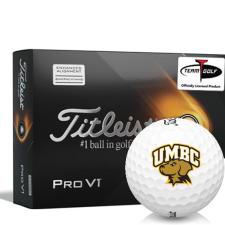 Titleist 2021 Pro V1 AIM Maryland Baltimore County Retrievers Golf Balls