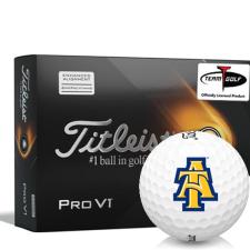 Titleist 2021 Pro V1 AIM North Carolina A&T Aggies Golf Balls