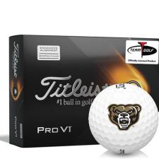 Titleist 2021 Pro V1 AIM Oakland Golden Grizzlies Golf Balls