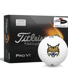 Titleist 2021 Pro V1 AIM Quinnipiac Bobcats Golf Balls