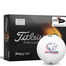 Titleist 2021 Pro V1 AIM South Alabama Jaguars Golf Balls