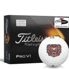 Titleist 2021 Pro V1 AIM Southwest Missouri State Bears Golf Balls
