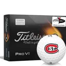 Titleist 2021 Pro V1 AIM St. Cloud State Huskies Golf Balls