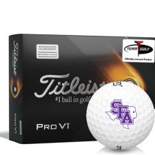 Titleist 2021 Pro V1 AIM Stephen F. Austin Lumberjacks Golf Balls