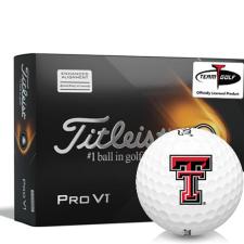 Titleist 2021 Pro V1 AIM Texas Tech Red Raiders Golf Balls