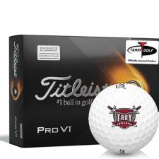 Titleist 2021 Pro V1 AIM Troy Trojans Golf Balls