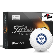 Titleist 2021 Pro V1 AIM US Navy Golf Balls