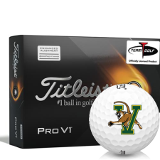 Titleist 2021 Pro V1 AIM Vermont Catamounts Golf Balls