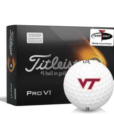 Titleist 2021 Pro V1 AIM Virginia Tech Hokies Golf Balls