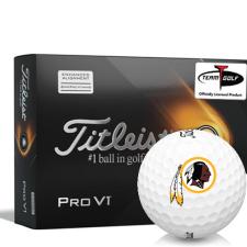 Titleist 2021 Pro V1 AIM Washington Redskins Golf Balls