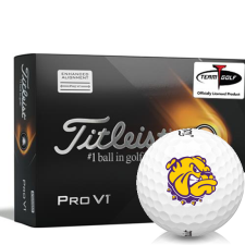Titleist 2021 Pro V1 AIM Western Illinois Leathernecks Golf Balls