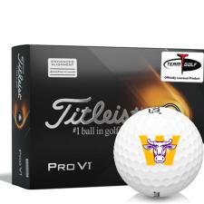 Titleist 2021 Pro V1 AIM Williams College Ephs Golf Balls