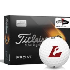 Titleist 2021 Pro V1 AIM Wisconsin La Crosse Eagles Golf Balls