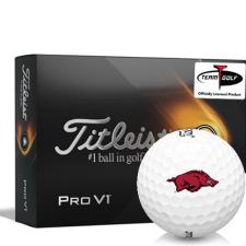 Titleist 2021 Pro V1 Arkansas Razorbacks Golf Balls