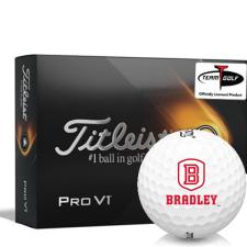 Titleist 2021 Pro V1 Bradley Braves Golf Balls