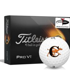 Titleist 2021 Pro V1 Campbell Fighting Camels Golf Balls
