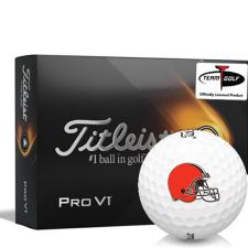 Titleist 2021 Pro V1 Cleveland Browns Golf Balls