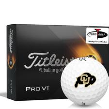 Titleist 2021 Pro V1 Colorado Buffaloes Golf Balls