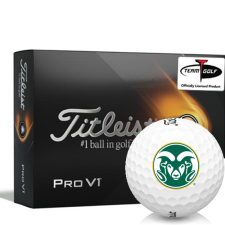 Titleist 2021 Pro V1 Colorado State Rams Golf Balls