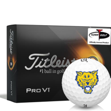 Titleist 2021 Pro V1 Fort Valley State Wildcats Golf Balls