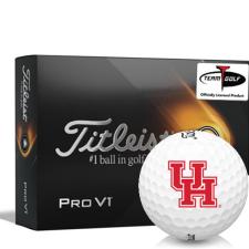 Titleist 2021 Pro V1 Houston Cougars Golf Balls