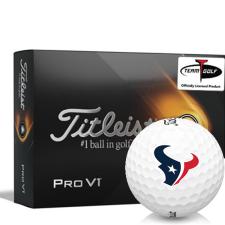 Titleist 2021 Pro V1 Houston Texans Golf Balls