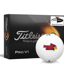 Titleist 2021 Pro V1 Illinois State Redbirds Golf Balls