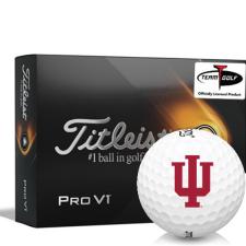 Titleist 2021 Pro V1 Indiana Hoosiers Golf Balls