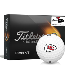 Titleist 2021 Pro V1 Kansas City Chiefs Golf Balls