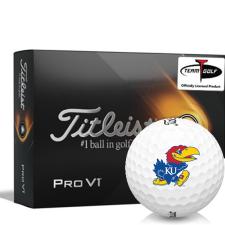 Titleist 2021 Pro V1 Kansas Jayhawks Golf Balls