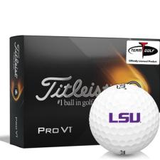 Titleist 2021 Pro V1 LSU Tigers Golf Balls