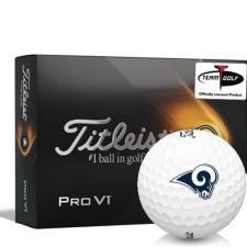 Titleist 2021 Pro V1 Los Angeles Rams Golf Balls