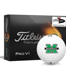 Titleist 2021 Pro V1 Marshall Thundering Herd Golf Balls