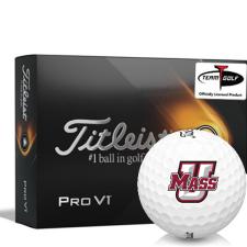 Titleist 2021 Pro V1 UMass Minutemen Golf Balls
