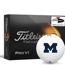 Titleist 2021 Pro V1 Michigan Wolverines Golf Balls