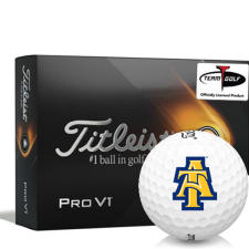 Titleist 2021 Pro V1 North Carolina A&T Aggies Golf Balls