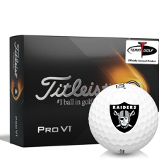 Titleist 2021 Pro V1 Oakland Raiders Golf Balls