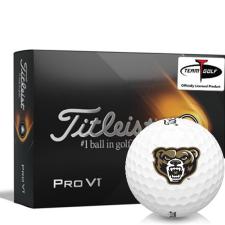 Titleist 2021 Pro V1 Oakland Golden Grizzlies Golf Balls