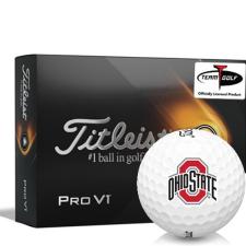 Titleist 2021 Pro V1 Ohio State Buckeyes Golf Balls