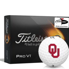 Titleist 2021 Pro V1 Oklahoma Sooners Golf Balls